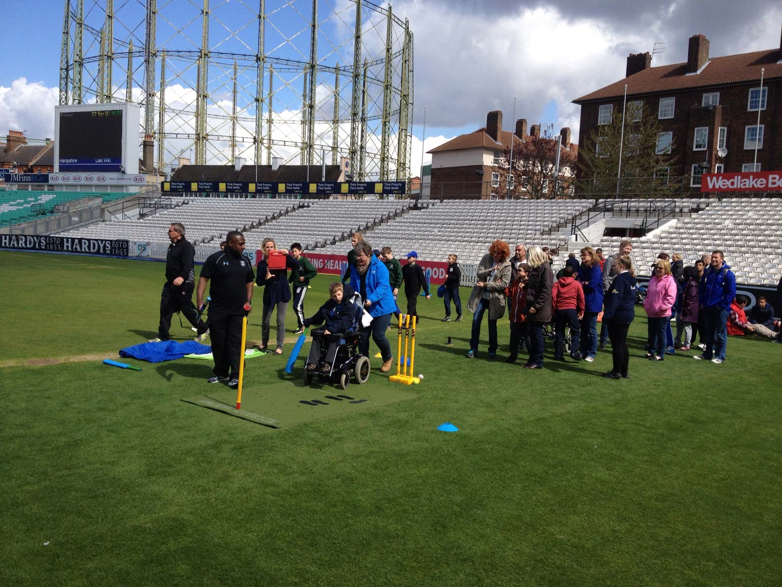 Surrey Cricket Disability day